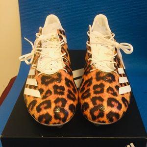 Adidas 5 Star 40 Leopard Print